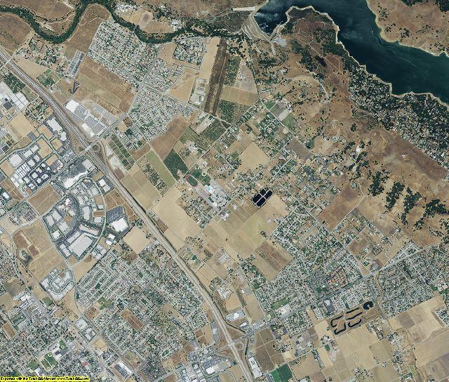 Santa Clara County, California aerial photography