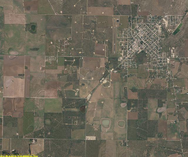Schleicher County, Texas aerial photography