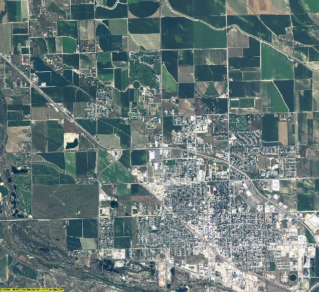 Scotts Bluff County, Nebraska aerial photography