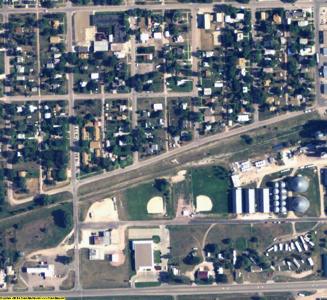 Sheridan County, NE aerial photography detail
