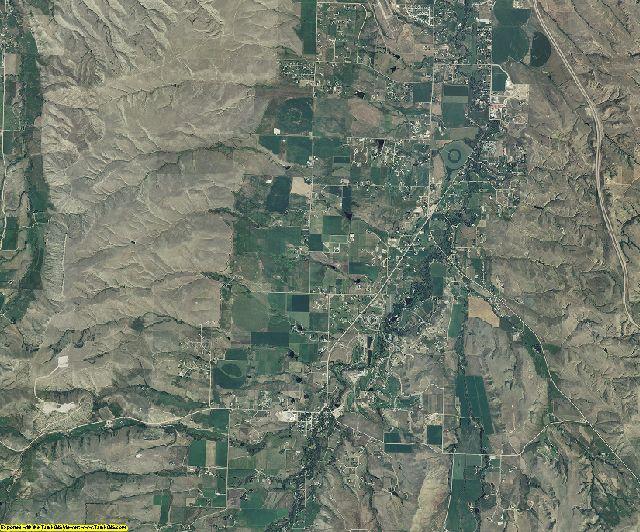 Sheridan County, Wyoming aerial photography