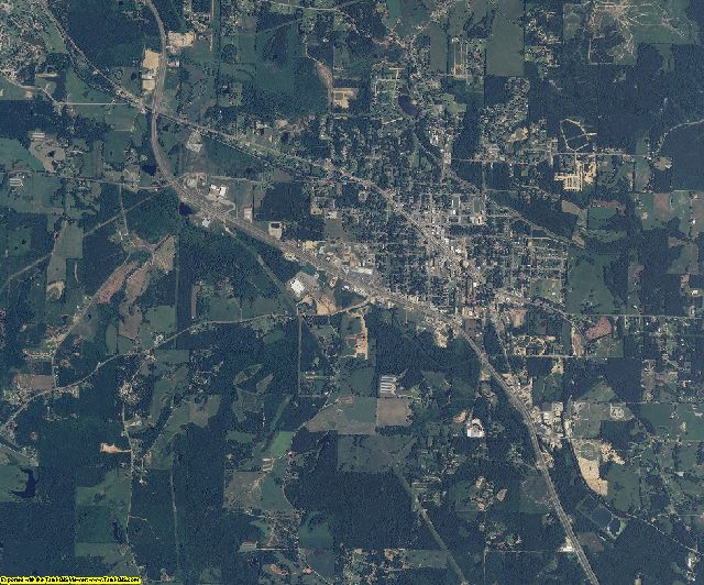 Simpson County, Mississippi aerial photography