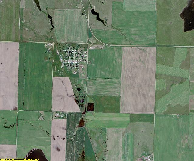 Sioux County, North Dakota aerial photography