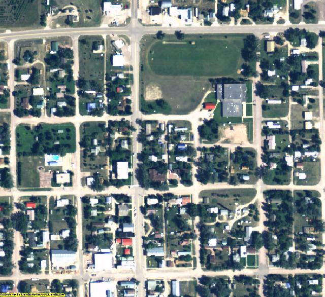 Sioux County, NE aerial photography detail
