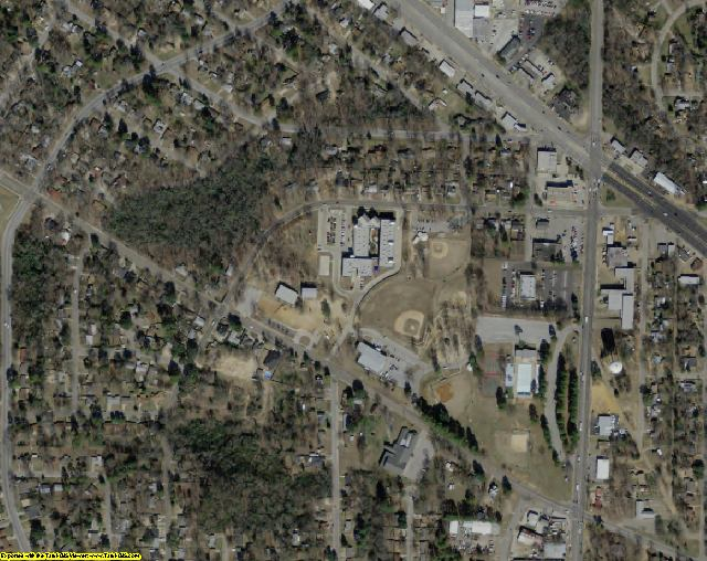 Smith County, TX aerial photography detail