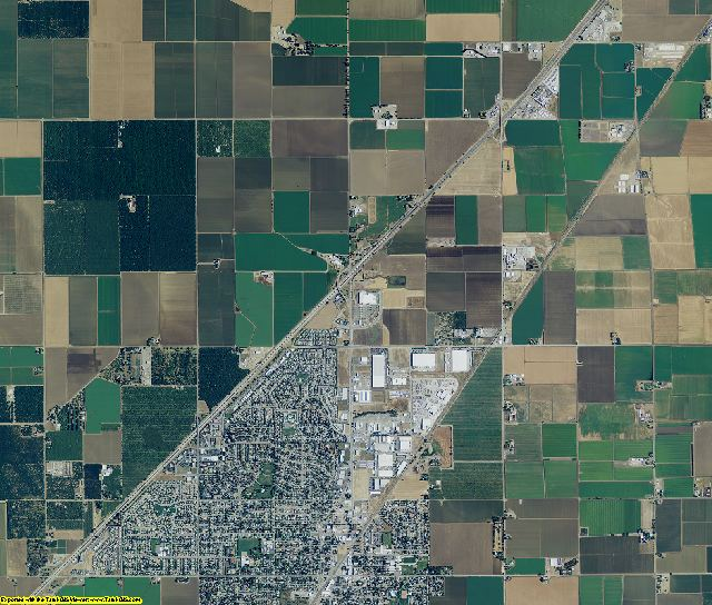 Solano County, California aerial photography