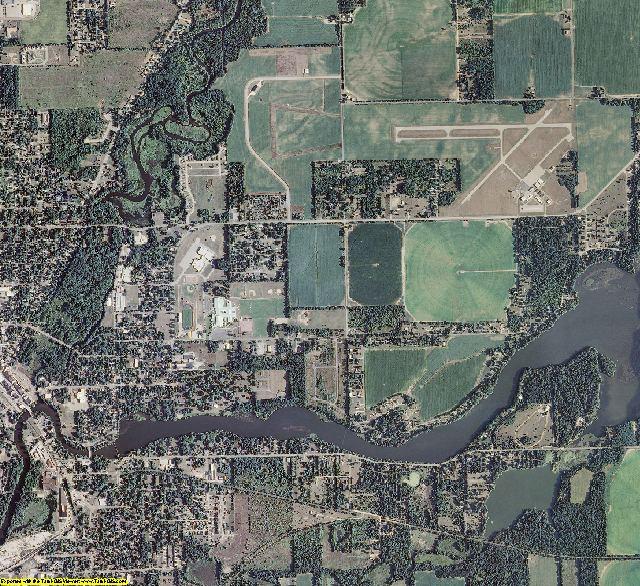 St. Joseph County, Michigan aerial photography