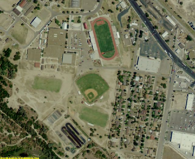 Starr County, TX aerial photography detail