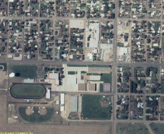 Stevens County, KS aerial photography detail