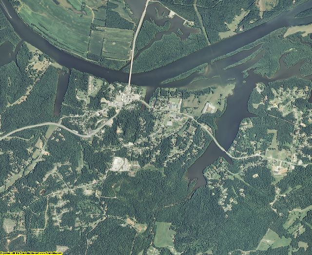 Stewart County, Tennessee aerial photography