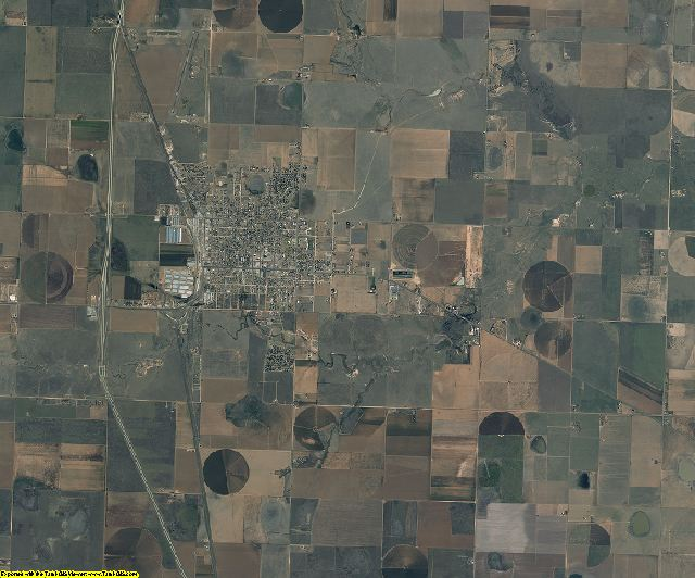 Swisher County, Texas aerial photography