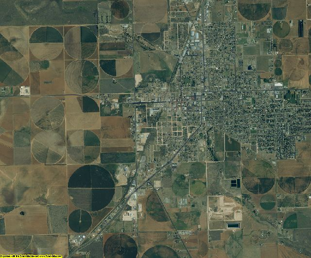 Terry County, Texas aerial photography
