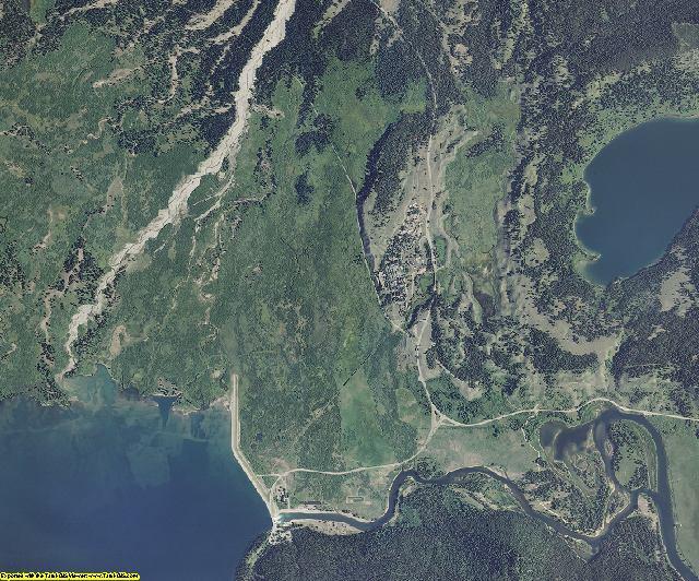 Teton County, Wyoming aerial photography
