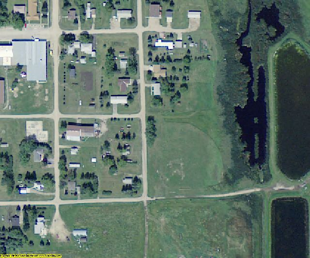 Towner County, ND aerial photography detail
