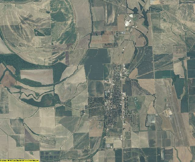 Tunica County, Mississippi aerial photography