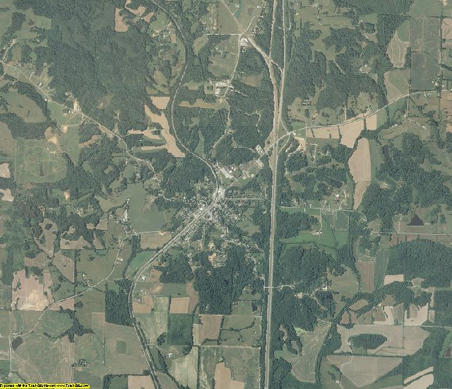 Union County, Illinois aerial photography