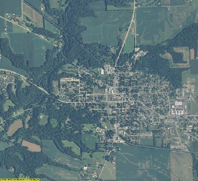Union County, Indiana aerial photography