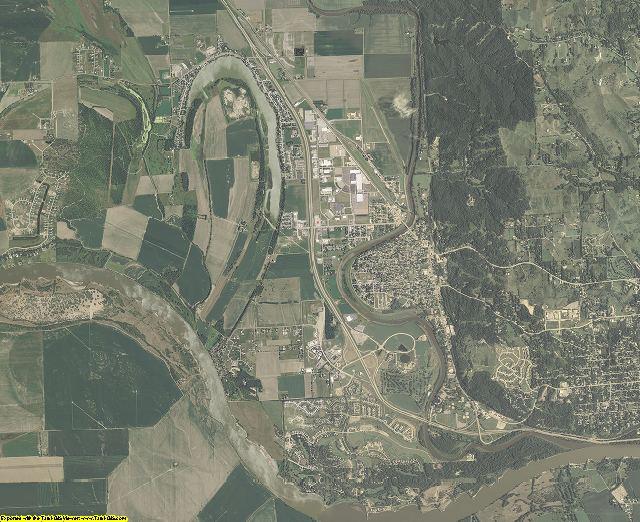 Union County, South Dakota aerial photography
