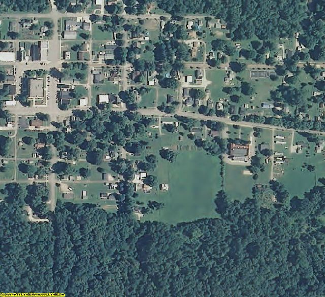 Vermillion County, IN aerial photography detail
