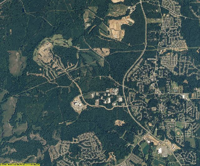 Wake County, North Carolina aerial photography