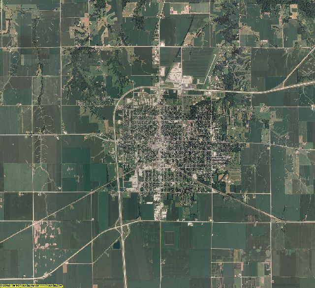Warren County, Illinois aerial photography