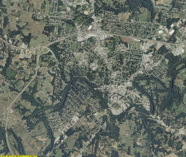Warren County, Tennessee aerial photography