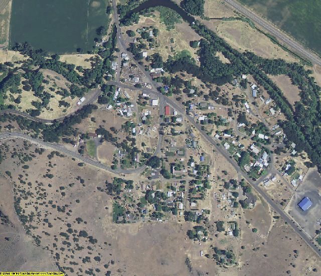 Wasco County, OR aerial photography detail