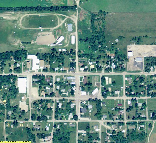 Wheeler County, NE aerial photography detail
