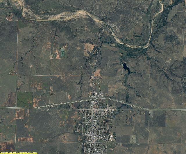 Wheeler County, Texas aerial photography