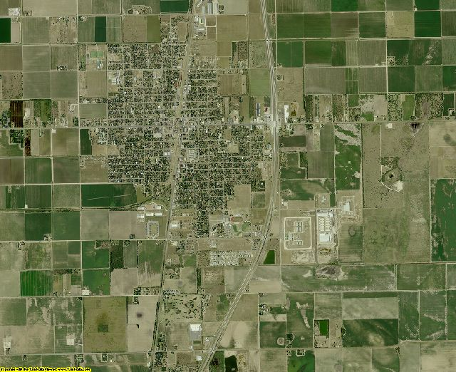 Willacy County, Texas aerial photography