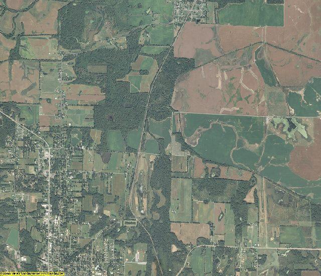 Williamson County, Illinois aerial photography