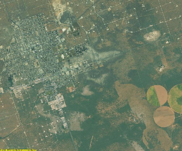 Winkler County, Texas aerial photography