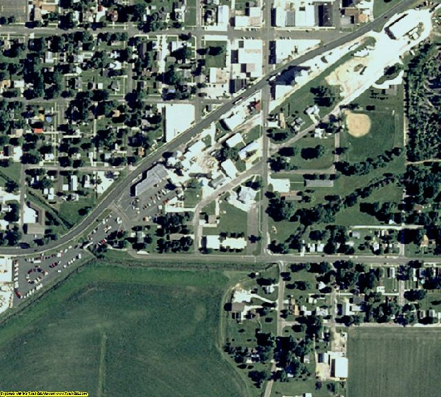 Woodford County, IL aerial photography detail