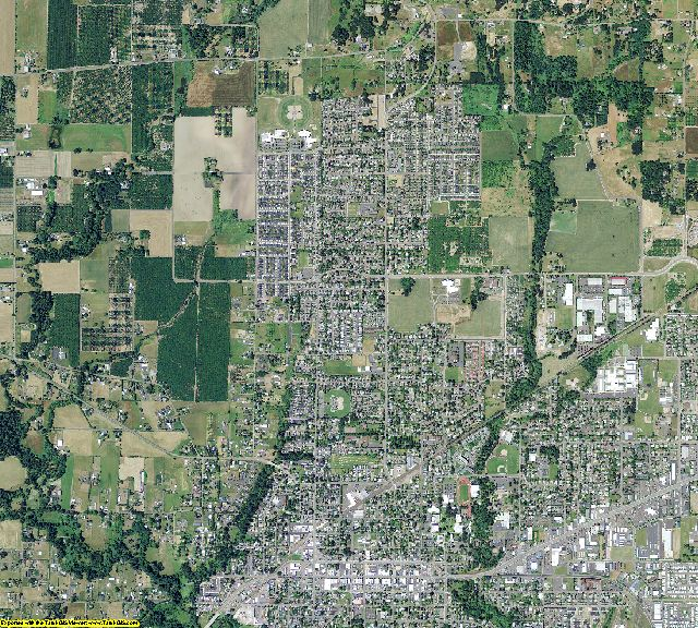 Yamhill County, Oregon aerial photography