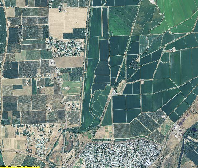 Yuba County, California aerial photography
