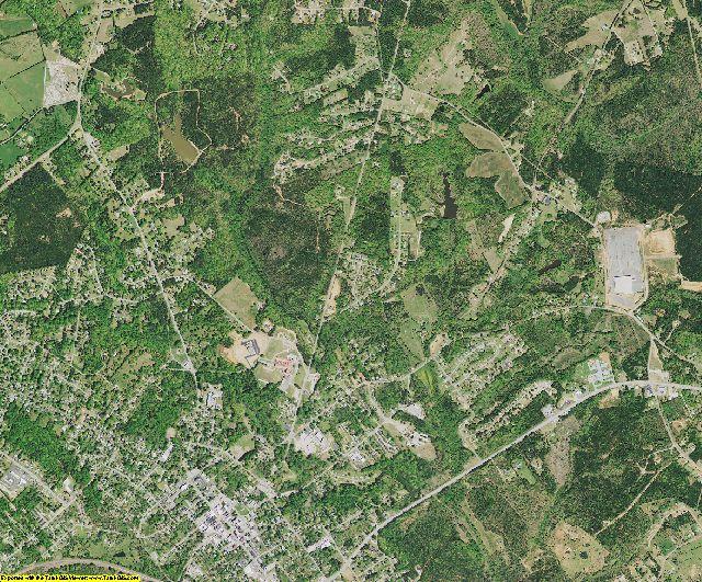Abbeville County, South Carolina aerial photography