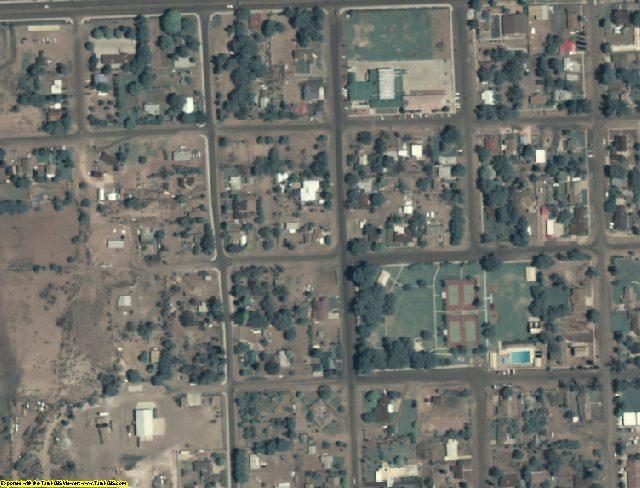 Apache County, AZ aerial photography detail