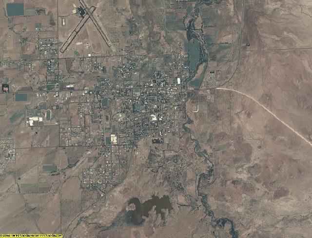 Apache County, Arizona aerial photography