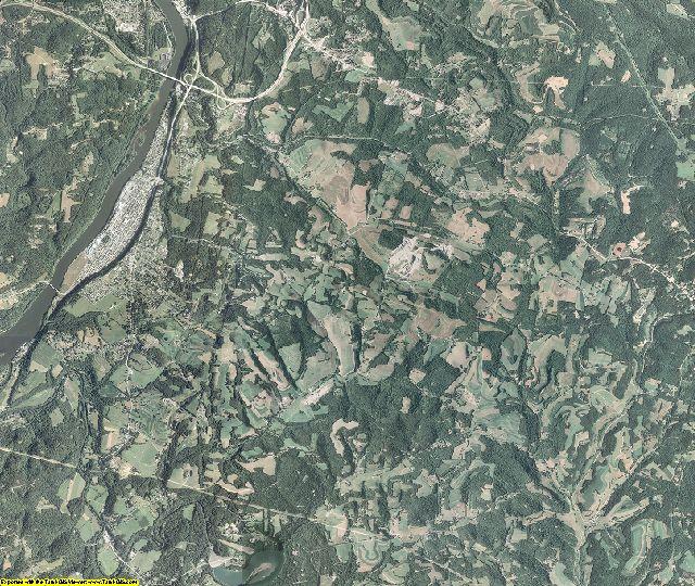 Armstrong County, Pennsylvania aerial photography