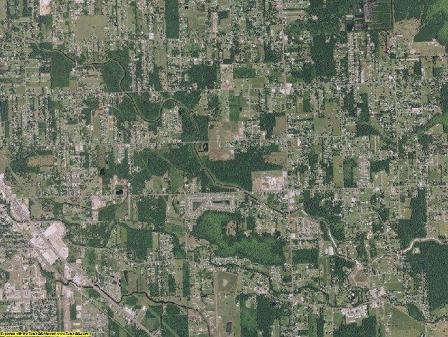 Ascension County, Louisiana aerial photography