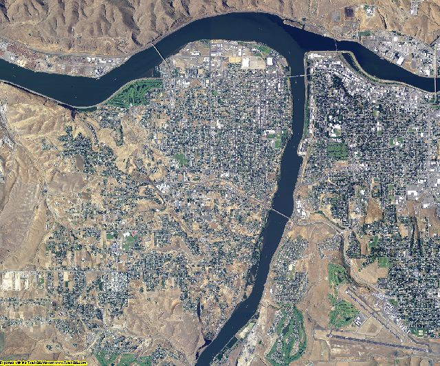 Asotin County, Washington aerial photography