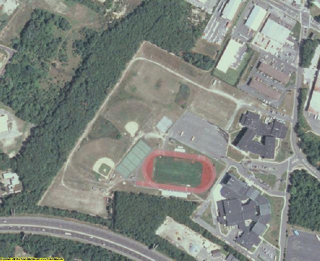 Atlantic County, NJ aerial photography detail
