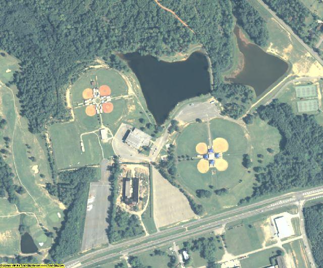 Baldwin County, GA aerial photography detail