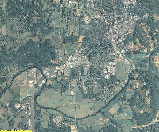 Bartow County, Georgia aerial photography