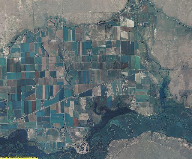 Bent County, Colorado aerial photography