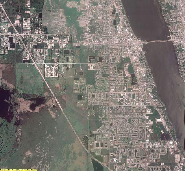 Brevard County, Florida aerial photography
