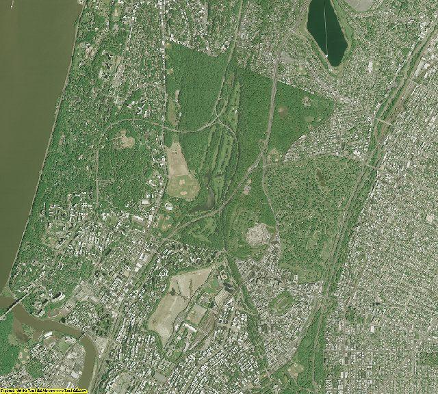 Bronx County, New York aerial photography