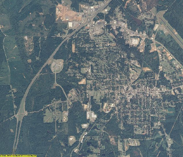 Butler County, Alabama aerial photography