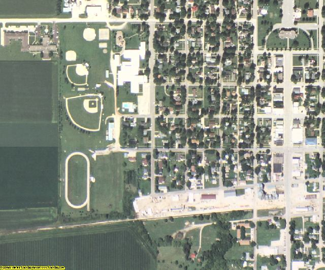 Butler County, IA aerial photography detail
