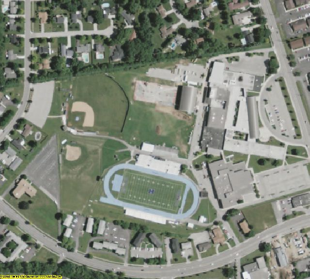 Butler County, OH aerial photography detail